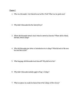 Alexander Hamilton: Study Guide