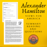 Alexander Hamilton: Views for America