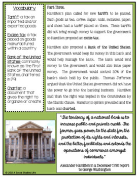 Alexander Hamilton's Financial Plan