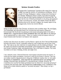 Alexander Hamilton vs Thomas Jefferson