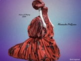 Alexander McQueen Art Fashion Design Runway Show Artist