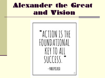 Alexander The Great & Vision