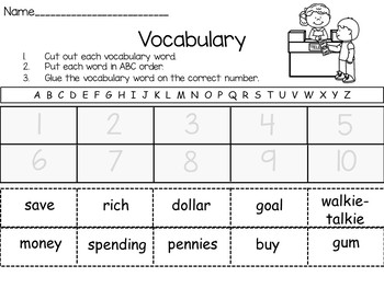 Alexander, Who Use to Be Rich Last Sunday ~ 43 pgs. Common Core Activities
