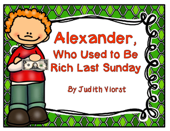 Alexander, Who Used to Be Rich Last Sunday Book Study