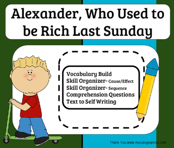 Alexander, Who Used to Be Rich Last Sunday- Literature Group