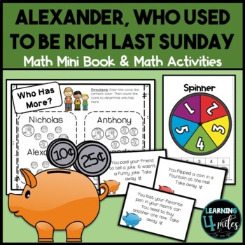 Alexander Who Used to Be Rich Last Sunday Book & Activities