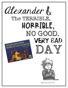 Alexander and The Terrible, Horrible, No Good, {VERY} Bad Day / Read Aloud