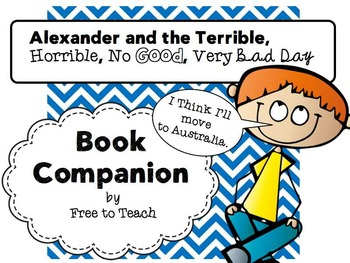 Alexander and the Terrible, Horrible, No Good, Very Bad Day Book Companion