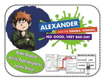 Alexander and the Terrible, Horrible, No Good, Very Bad Day Book Resources