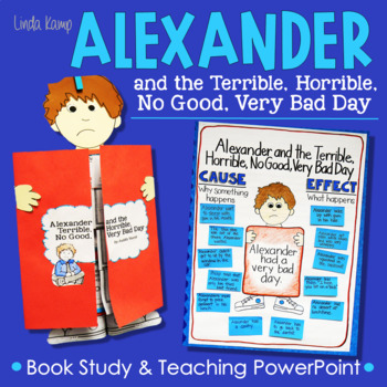 Alexander Terrible, Horrible, No Good, Very Bad Day Book Study & PowerPoint