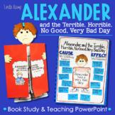 Alexander Terrible, Horrible, No Good, Very Bad Day Activities & PowerPoint