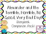 Alexander and the Terrible, Horrible, No Good, Very Bad Day Companion