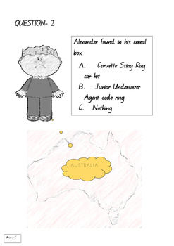 Alexander and the Terrible, Horrible, No Good, Very Bad Day- Comprehension Test