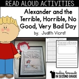 Alexander and the Terrible, Horrible, No Good, Very Bad Day:  Literature Unit