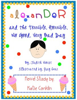 Alexander and the Terrible, Horrible, No Good, Very Bad Day: Novel Study