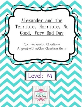 Alexander and the Terrible, Horrible, No Good, Very Bad Day-Questions