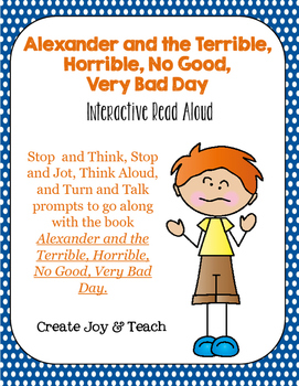 Alexander and the Terrible, Horrible, No Good, Very Bad Day Read Aloud