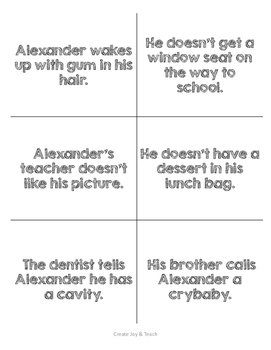 Alexander and the terrible horrible book pdf with pictures