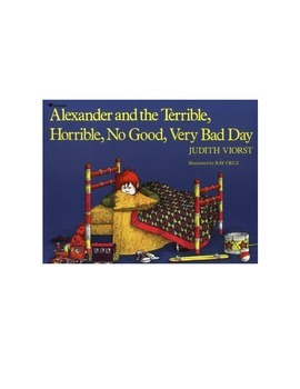 Alexander and the Terrible, Horrible, No Good, Very Bad Day Sequencing Activity
