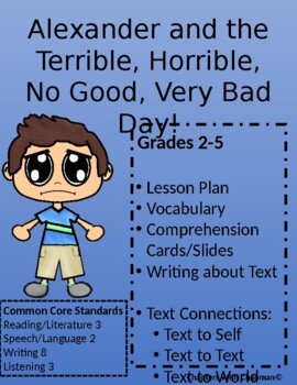 Alexander and the Terrible, Horrible, No Good, Very Bad Day Shared Reading