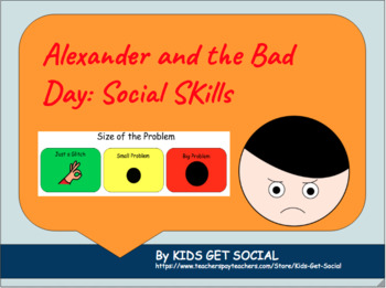 Alexander and the Terrible, Horrible, No Good, Very Bad Day: Size of the Problem