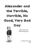 Alexander and the Terrible, Horrible, No Good, Very Bad Day unit