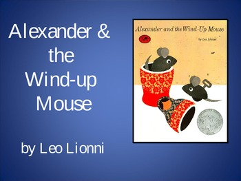 Alexander and the Wind-up Mouse, Text Talk, Collaborative