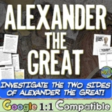 Alexander the Great: A Hero or a Villain?  A common-core ready investigation!