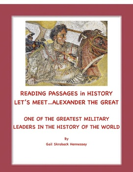 Alexander the Great: A Reading Passage/Extension Activities