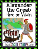 Alexander the Great: Hero or Villain Project - Create a Poster or Dialogue