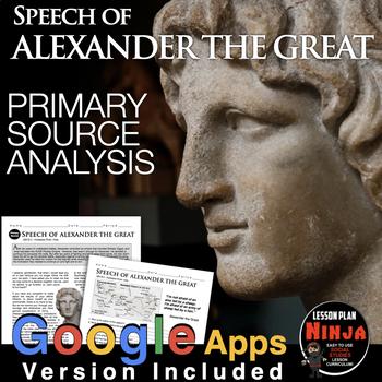 Alexander the Great Primary Source Worksheet (Greece)