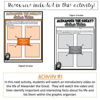 Alexander the Great...Was He So Great? WebQuest Activity