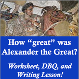 Alexander the Great Worksheet Packet