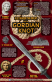Alexander the Great and the Gordian Knot Infographic