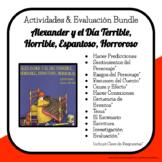 Book Study & Quiz - Alexander y el Día Terrible, Horrible,
