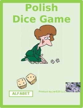 Alfabet (Alphabet in Polish) Dice Game