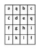 Alfabet (Alphabet in Polish) Slap game