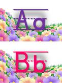 Alfabeto floral