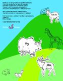 Alfabeto / Alphabet ESPAÑOL / SPANISH Animales / Animals A-Z CLIPART