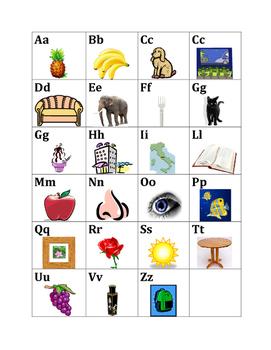 Alfabeto (Alphabet in Italian) mini-poster