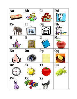 Alfabeto (Alphabet in Portuguese) Poster