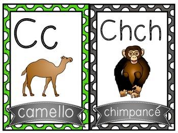 Alfabeto (Animales) / Spanish Alphabet (Animals)
