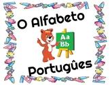 Alfabeto Portugûes // Portuguese Alphabet // Flashcards