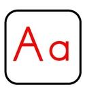 Alfabeto (Word Wall Spanish Alphabet)