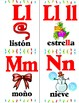 Alfabeto de Navidad en español. Christmas Spanish alphabet flashcards!!