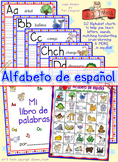 Alfabeto de español - printable Spanish alphabet workbook