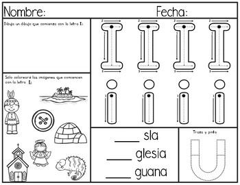 Alfabeto en Español