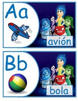 Alfabeto español inside out