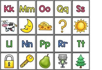 Alfabetpenger med tilhørende aktiviteter (BM & NN)