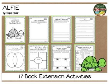 Alfie by Thyra Heder 17 Book Extension Activities NO PREP